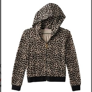 Juicy Couture Matching Sets - NWT Juicy Couture Girls Leopard Velour Suit